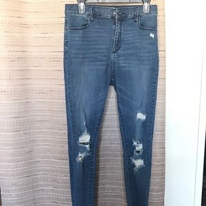 PACSUN High Rise Ankle Jegging Sz 29
